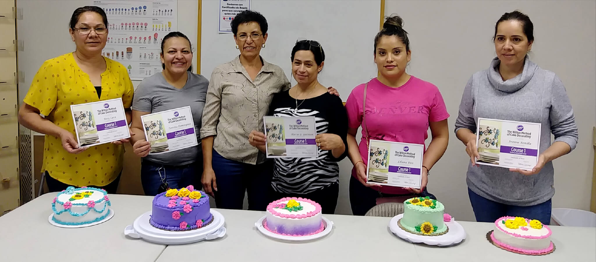 Cake decorating classes in Albuquerque, NM.