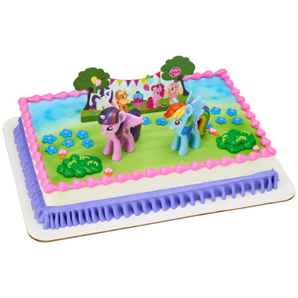 My Little PonyTM Its A Pony Party Cake Topper