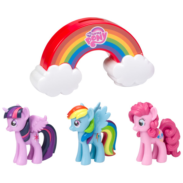 My Little Pony Over the Rainbow Signature-Cake Topper