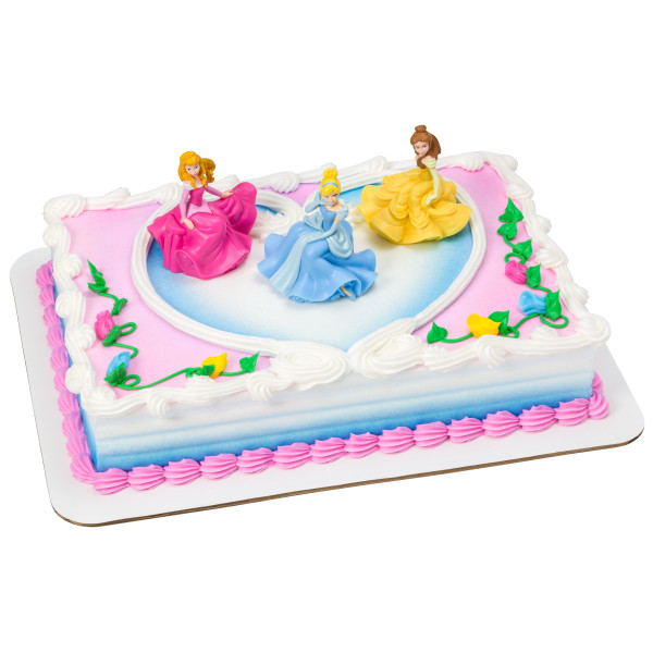 Disney Princess Once Upon a Moment Cake Topper