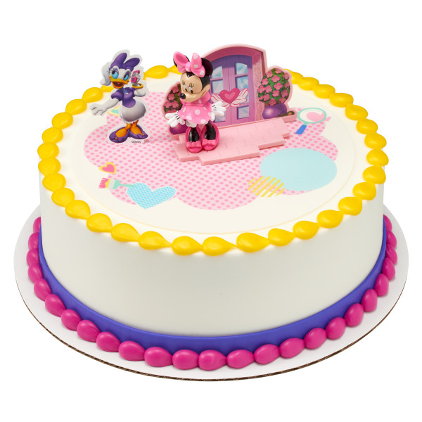 Magnificent Minnie Mouse Happy Helpers Cake Topper Funny Birthday Cards Online Elaedamsfinfo
