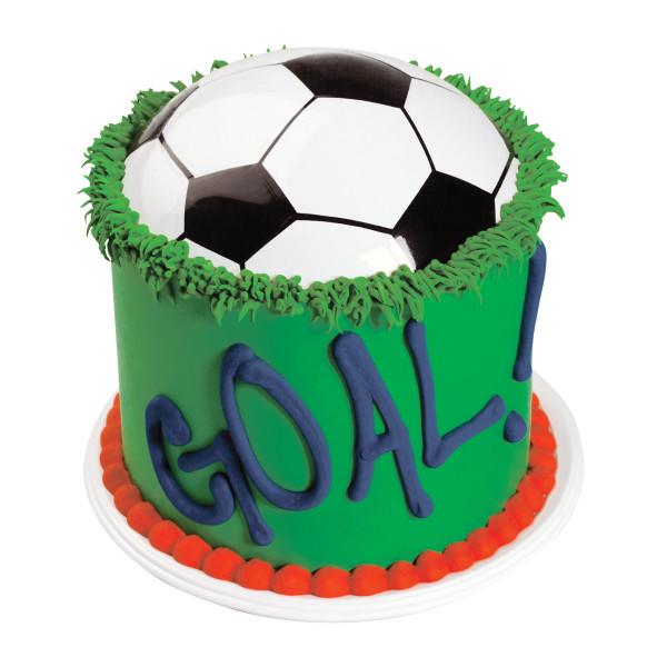 Soccer Ball Pop Tops Cake Topper